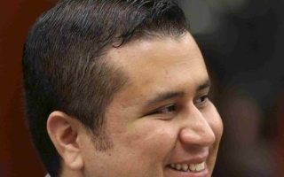 George Zimmerman smiles jury selection continues in his second-degree murder trial in Sanford