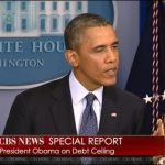 "President Obama To GOP – ""We're not going to pay a ransom for America paying its bills."" – Video"