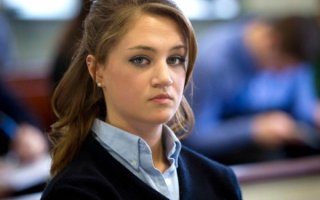 Rachel Canning attends a hearing in her lawsuit against her parents Sean and Elizabeth Canning, in Morristown