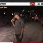 MSNBC's Chris Hayes is Stoned in Ferguson Missouri – Video