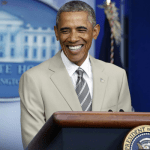 "GOP's 'TanSuit Gate' – The President ""feels pretty good"" About his Wardrobe"