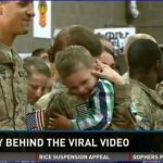 Heart Warming – 3 Year Old Boy Defies Military Protocol – Video