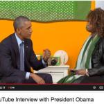 "YouTube Star Offers Obama Green Lipstick For his ""first wife"" – Video"