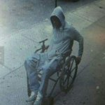Man in Wheelchair Robs Bank in New York – And Gets Away!