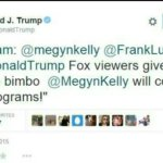 Donald Trump Retweets Sexist Tweet Attacking Fox's Megyn Kelly – PIC