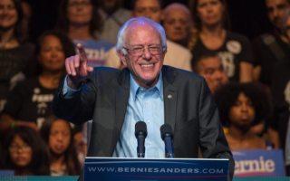 Bernie Sanders Bernie Sanders Fundraiser Rally at The Avalon, Los Angeles, America - 14 Oct 2015   (Rex Features via AP Images)