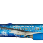 """The """"Frozen"""" Themed Airplane is Ready For Service"""