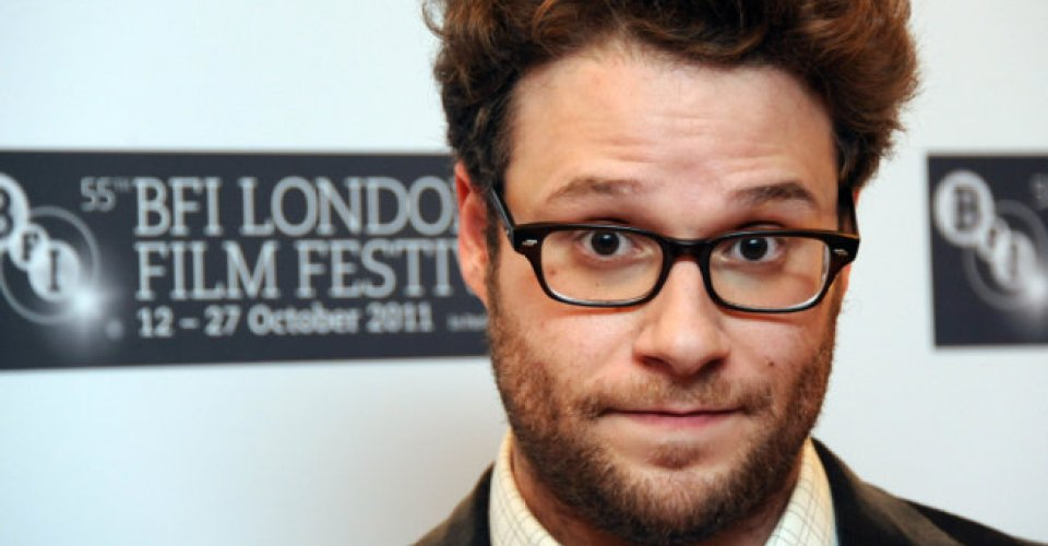 LONDON, UNITED KINGDOM - OCTOBER 13: Seth Rogen attends the premiere of 50/50 at the 55th BFI London Film Festival at Odeon Leicester Square on October 13, 2011 in London, England. (Photo by Stuart Wilson/Getty images For The BFI)