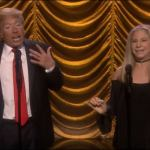 Donald Trump and Barbra Streisand Sing – 'Anything You Can Do' – Video