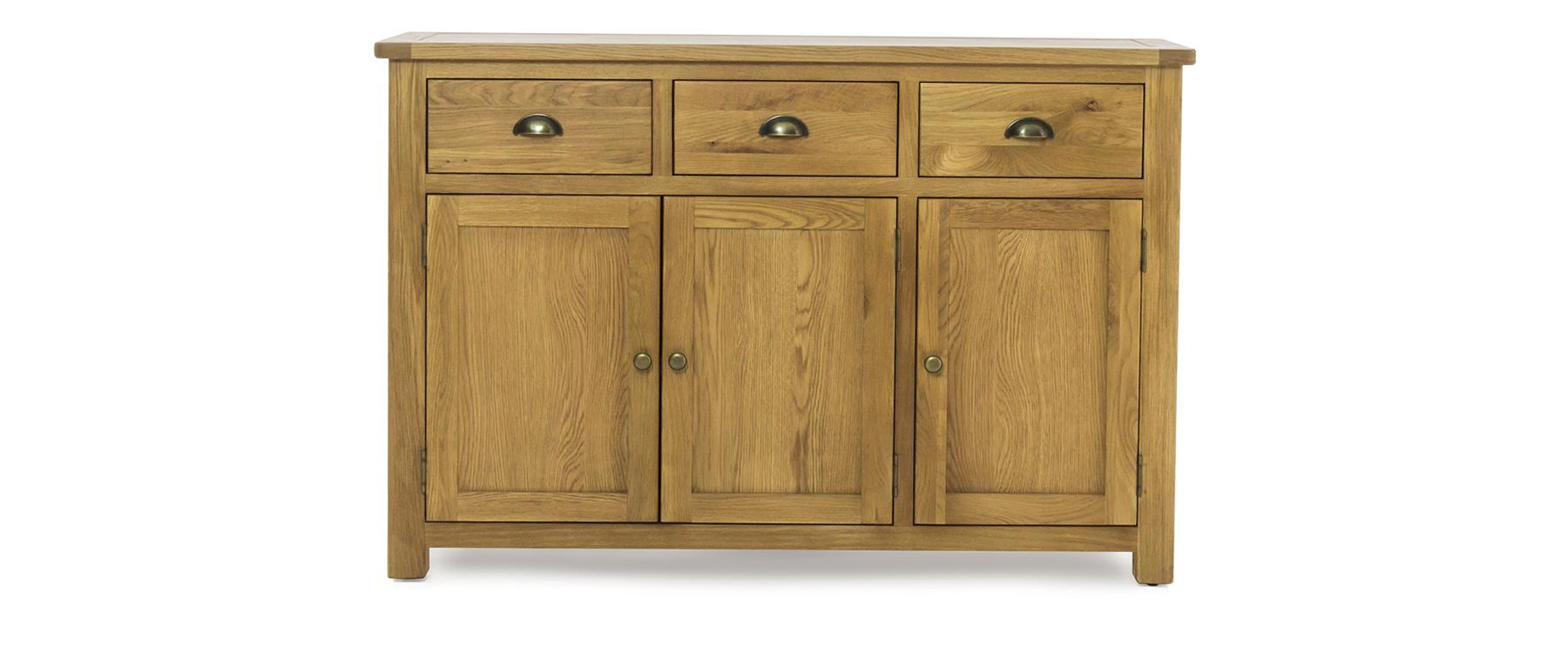 Meubles Furniture Ireland Canterbury 3 Door 3 Drawer Sideboard