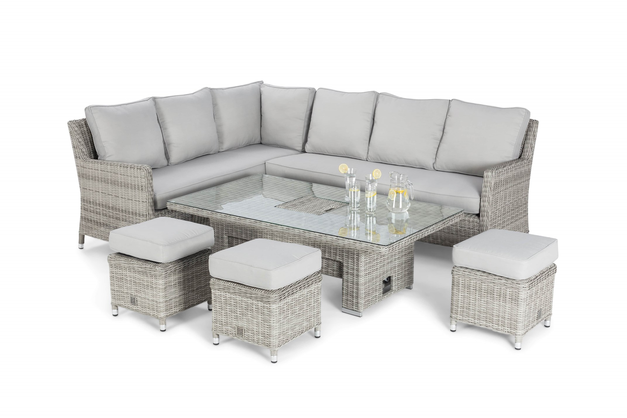Corner Garden Dining Set Oxford Ez Living Furniture