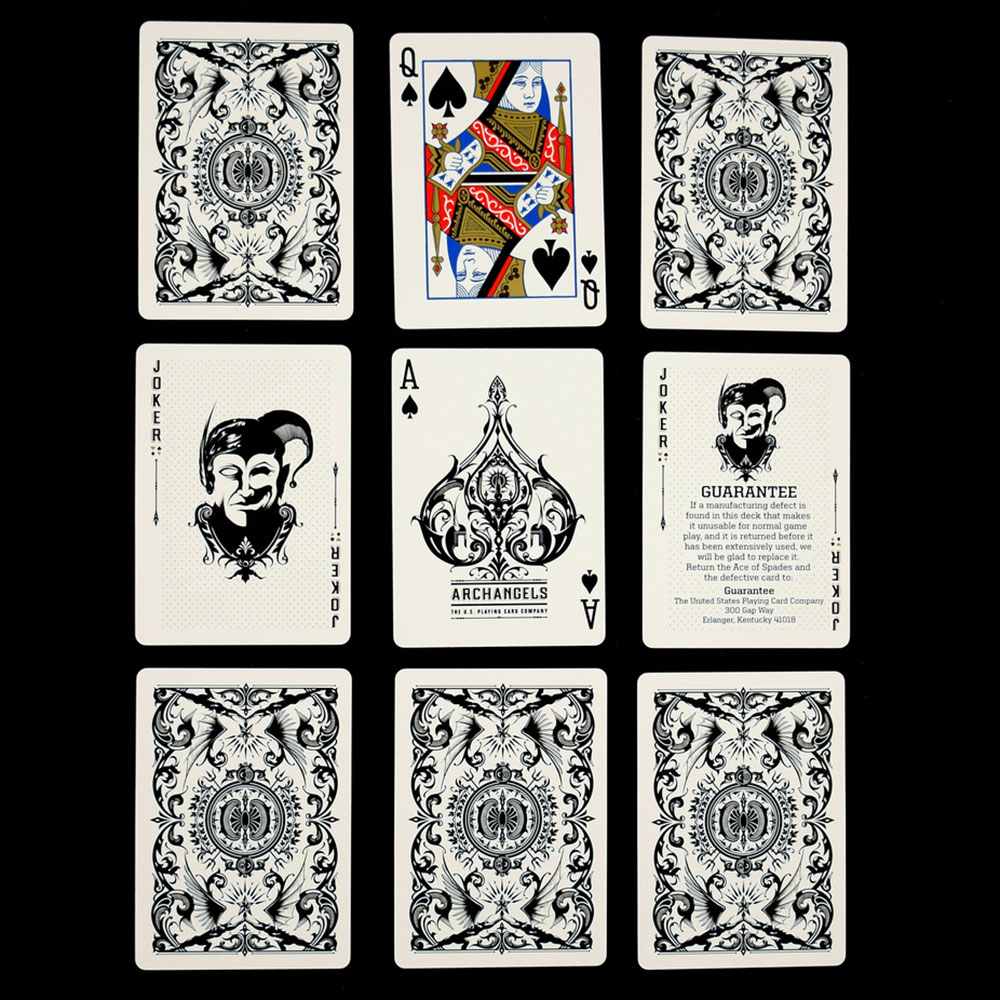 Tom Zailor Bicycle Archangels Playing Cards | D. Robbins & Co.