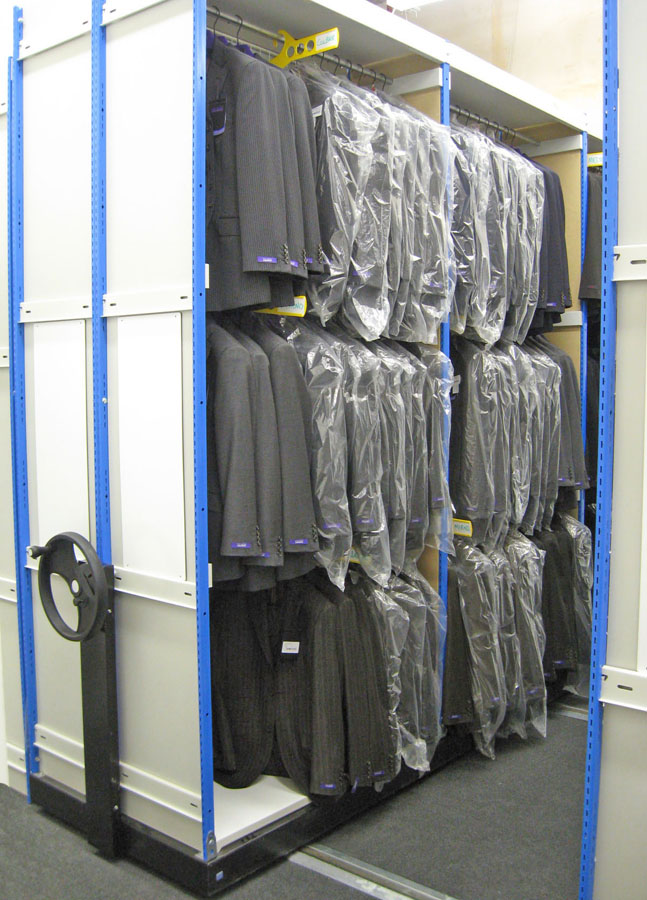 Clothes Storage Systems Garment Racking & Hanging Storage Solutions