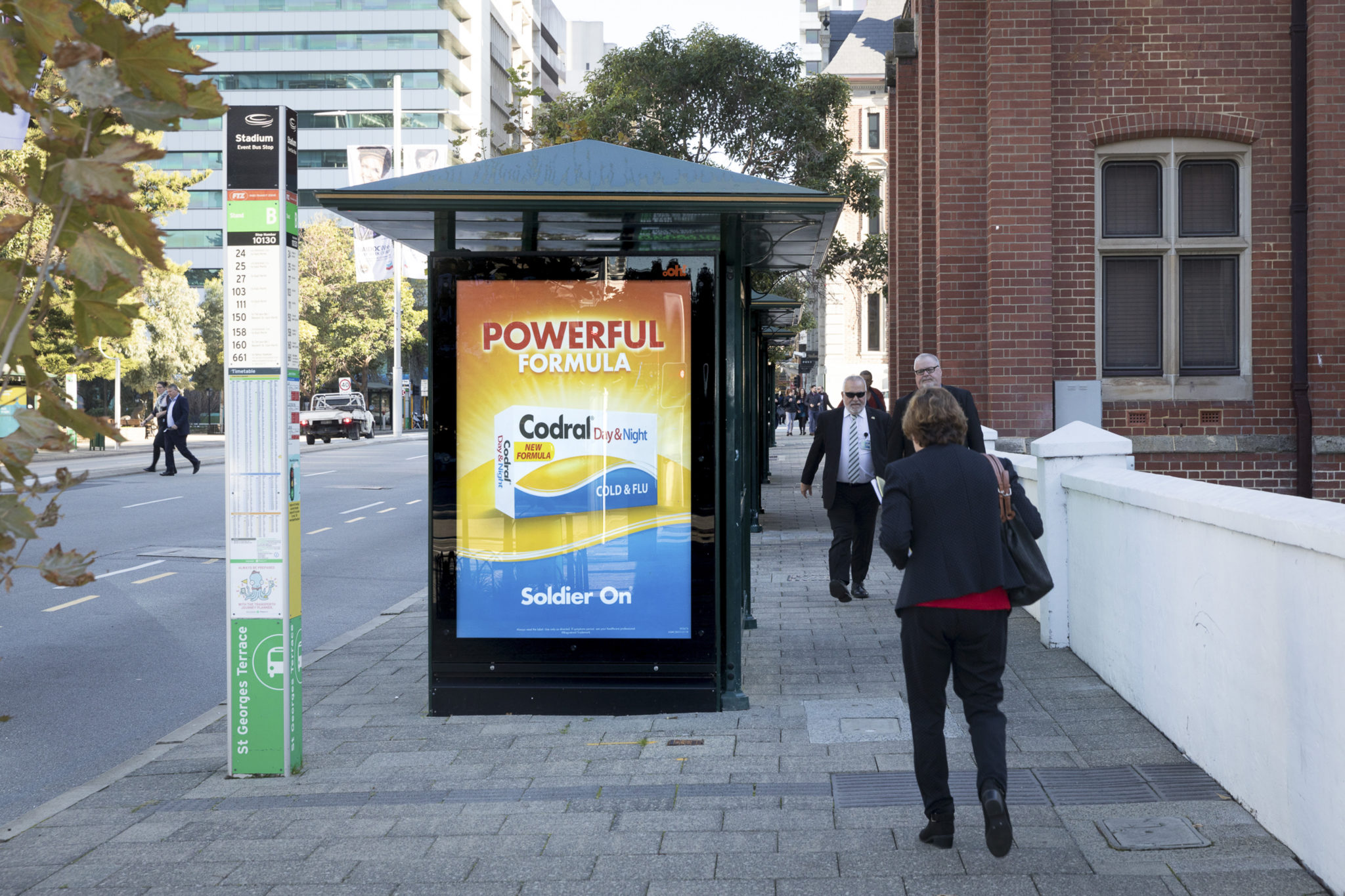 Poster Shop Perth Commute By Ooh Bus Shelters And Roadside Advertising