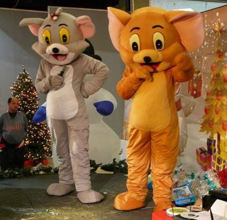 Tom a Jerry - maskoti