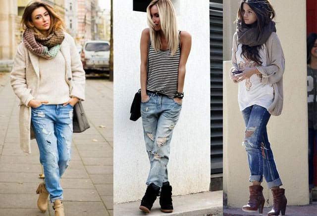Winter Boots To Wear With Boyfriend Jeans Iucn Water