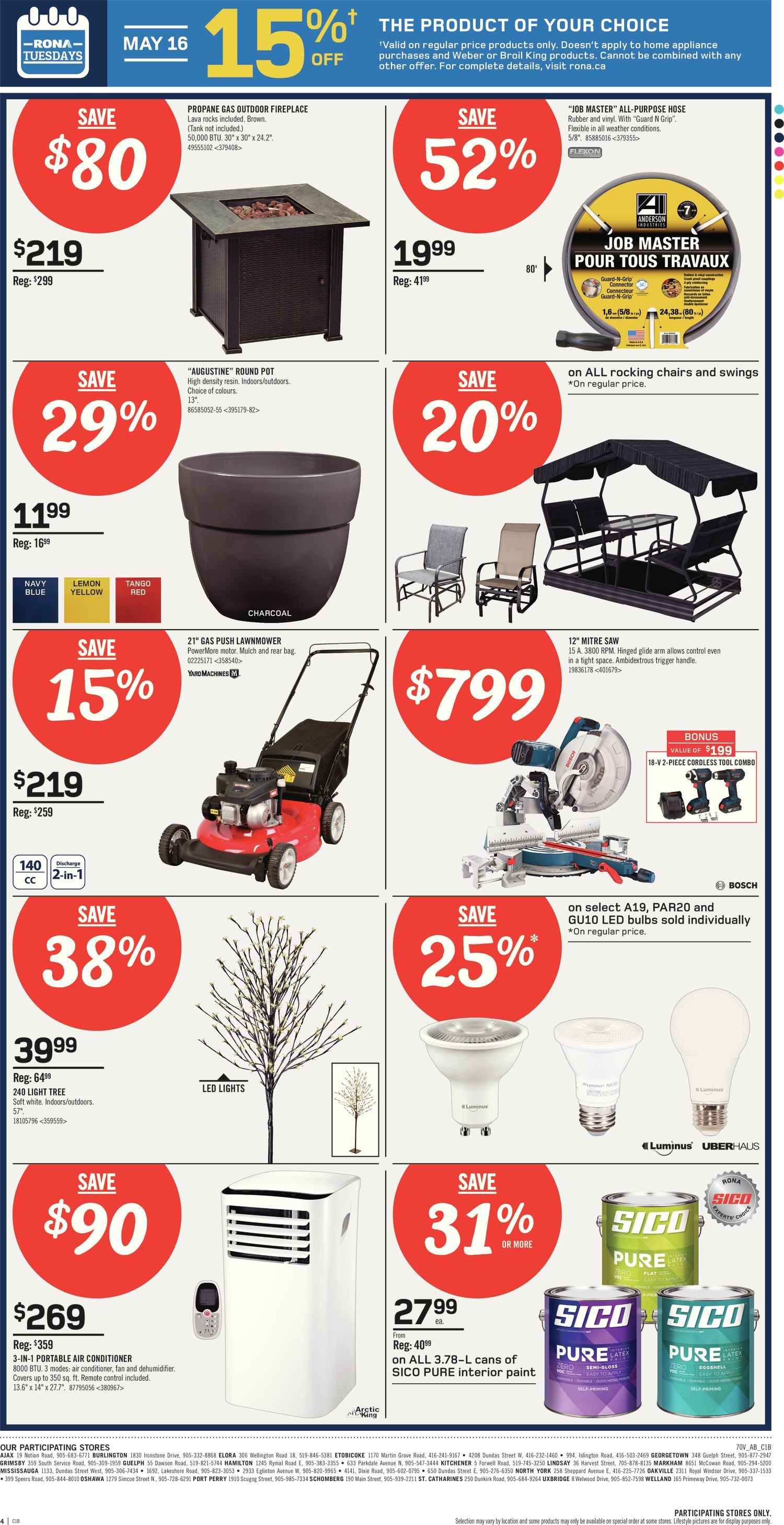 Rona Moving Boxes Rona Weekly Flyer Best Deals Of The Week May 11 17