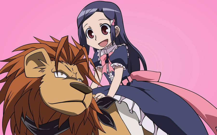 Cute Small Girl Hd Wallpaper Colorful Anime Girl Wallpaper 39049