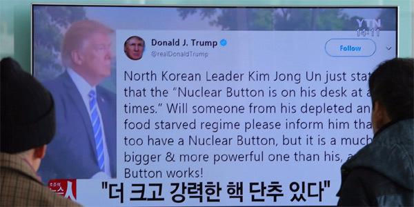 Tổng thống Trump,nút hạt nhân,Tình hình Triều Tiên,Kim Jong Un