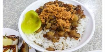 [花蓮市區] 蔡記古早味魯肉飯