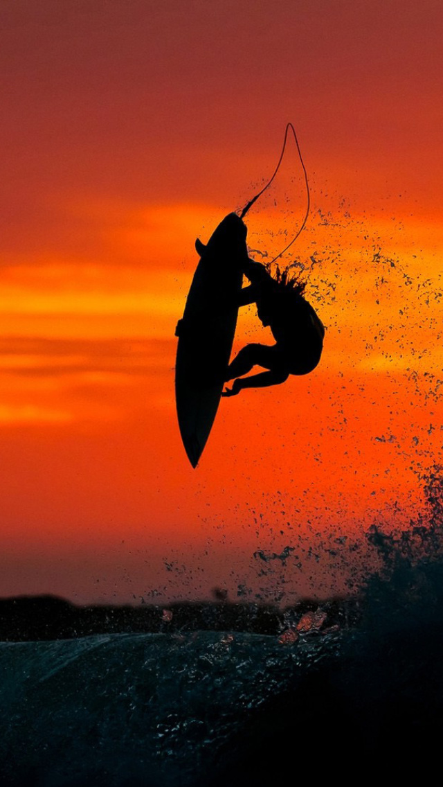 Rip Curl Girl Wallpaper Extreme Surfing Wallpaper For 640x1136