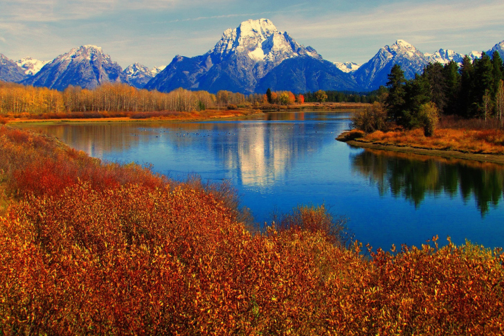 Fall Paintings Wallpaper Autumn Landscape In Wisconsin Wallpaper For Android