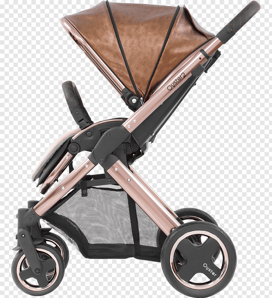 Oyster Pram Purple Babystyle Oyster 2 Baby Transport Gold Rose Gold Free Png