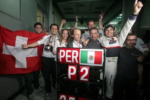 Sauber F1—Malaysia 2012