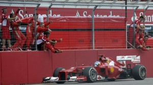 Alonso—Germany 2012