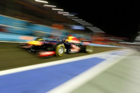 Vettel—Singapore 2012 practice