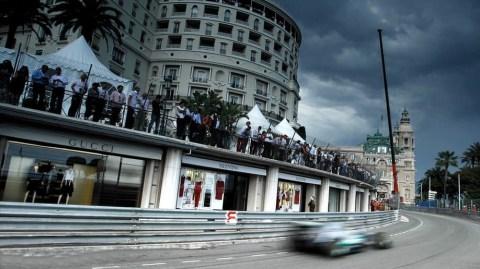 Schumacher—Monaco 2012 practice