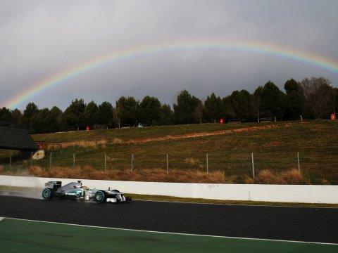 Rosberg—2013 preseason