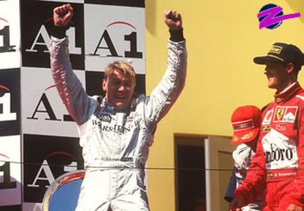 Austria 1998 podium