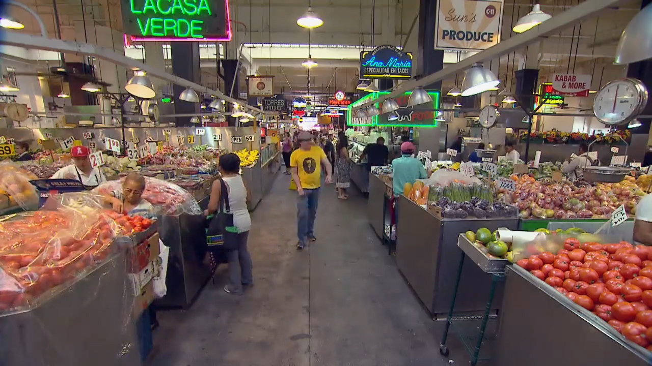 Cucina And Co Grand Central Station Grand Central Market A Look Back At 100 Years Kcet