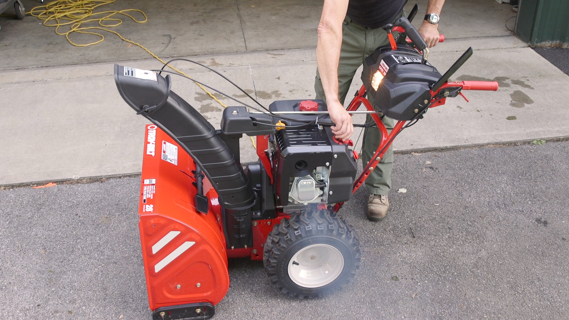 Used Snow Blowers How To Get Your Snow Blower Ready For Winter Consumer Reports