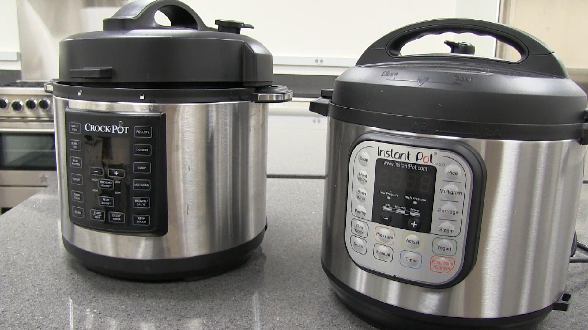 Big W Pressure Cooker Face Off Instant Pot Vs Crock Pot Multi Cooker