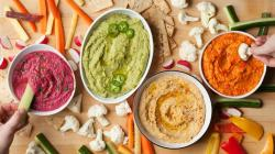 Awesome Rainbow Hummus Ways Healthy Super Bowl Chips Dip Recipes Eatingwell Low Calorie Chips India Low Calorie Chips Salsa