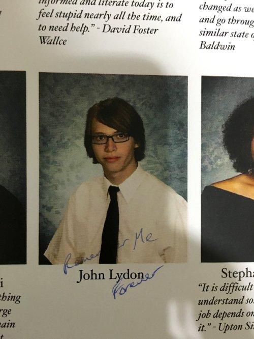 Medium Of Remember Me Yearbook