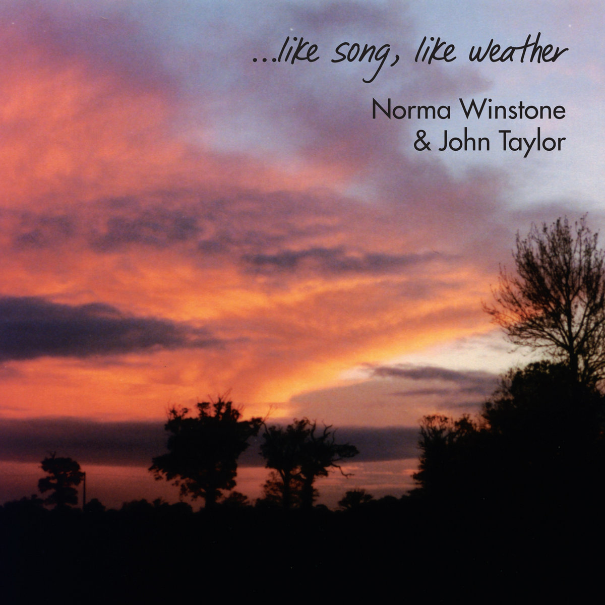 Like Weather What Like Song Like Weather Norma Winstone