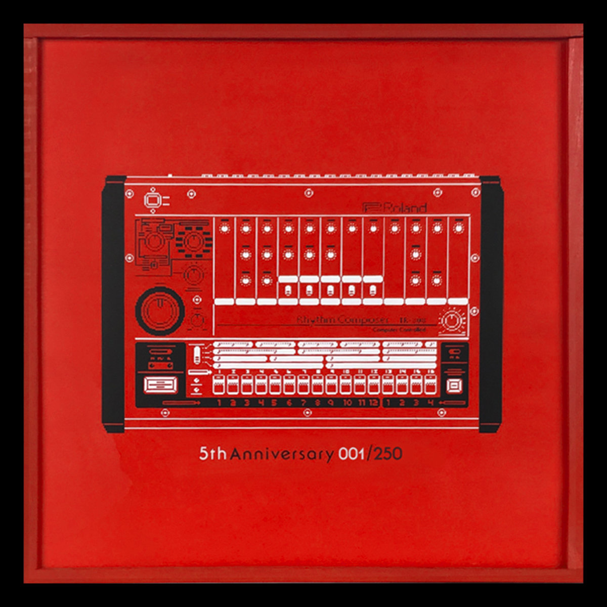 Red 1 Next To Time Capsule 5th Anniversary 808 Box Fundamental Records