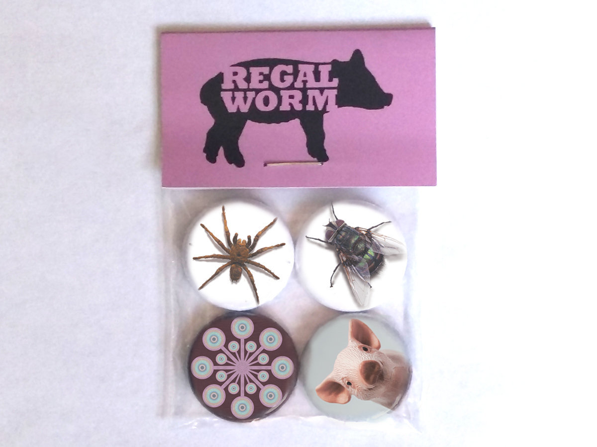 Lp Regal Pig Views Cd Lp Bundle Regal Worm