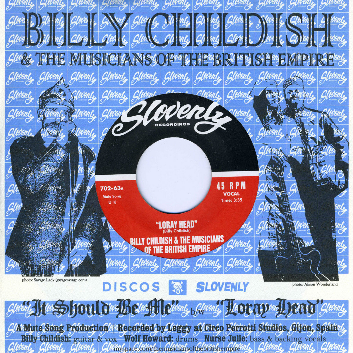 The Music Ep Billy Childish The Music Of The British Empire