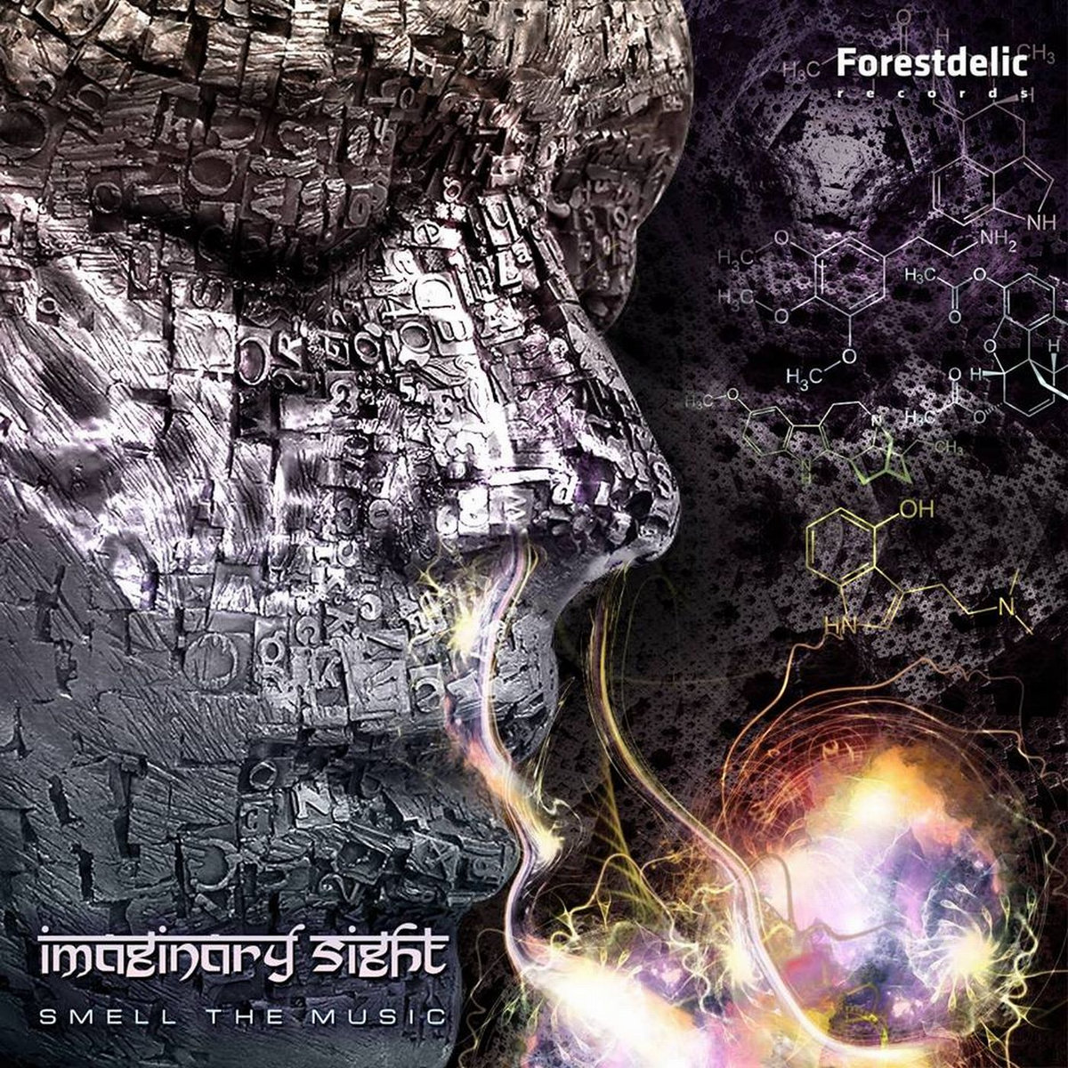 The Music Ep Imaginary Sight Smell The Music Ep Forestdelic Records