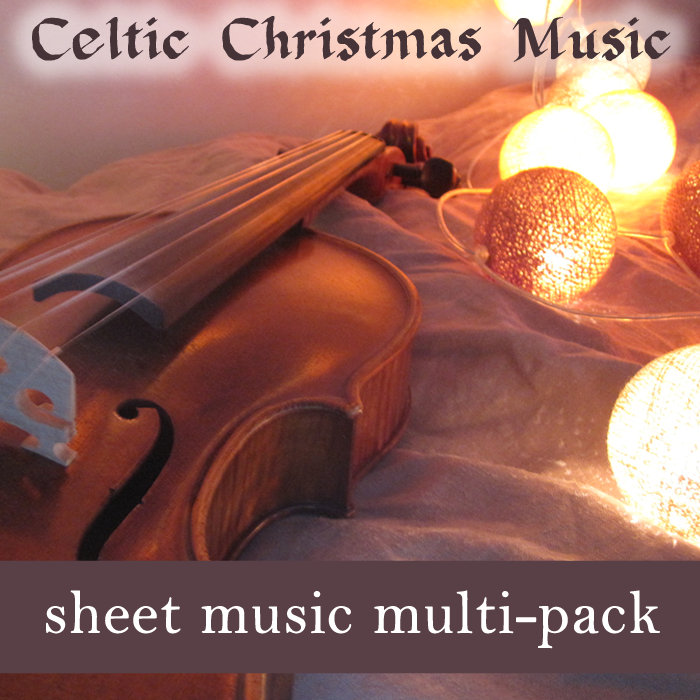 Celtic Christmas Sheet Music for Fiddle Duet or Trio - Fiddle Sheet