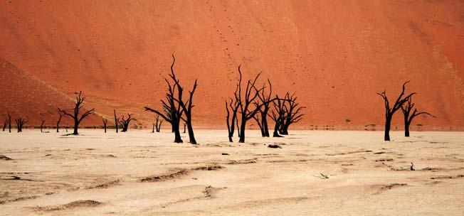 Deafvlei i Namibia