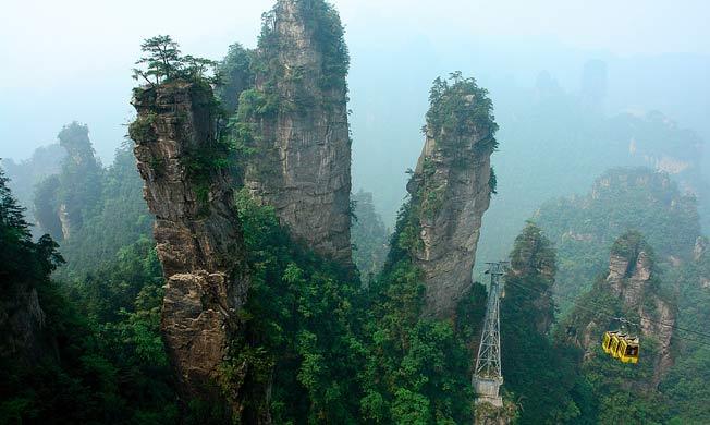 Tianzi Fjellene i Kina