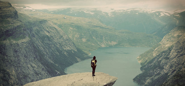 Trolltunga, Hordaland Norge