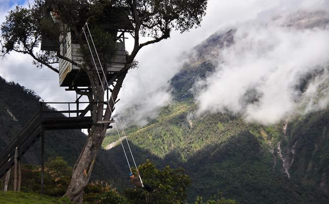 Husken på verdens ende, Banos Ecuador