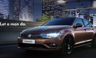 Volkswagen Lamando Four-Door Coupe Officially Revealed in China [Video] [Photo Gallery]