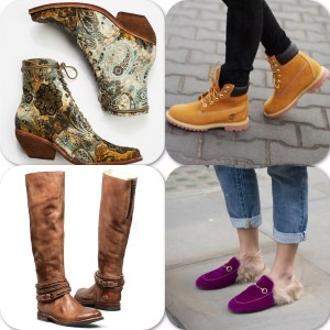 A picture of fall shoe styles